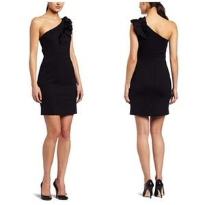 Trina Turk Sheila Black Sheath Dress Size 4